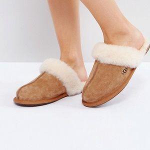UGG Scufette II Chestnut Slippers